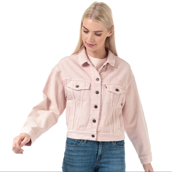 Levi's Jackets & Blazers - Levi's Slouch Denim Trucker Jacket